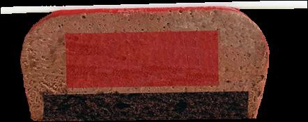Фрамбуаз малиновый разрез сжатый